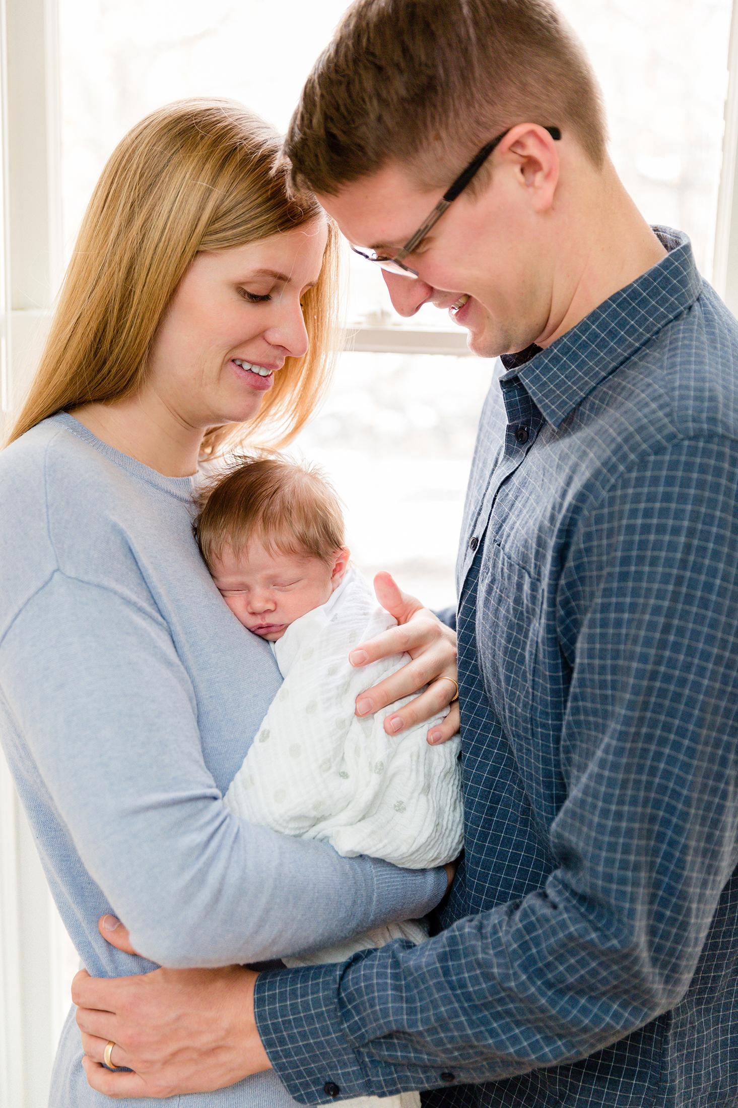 Utah Lifestyle Newborn Photographer