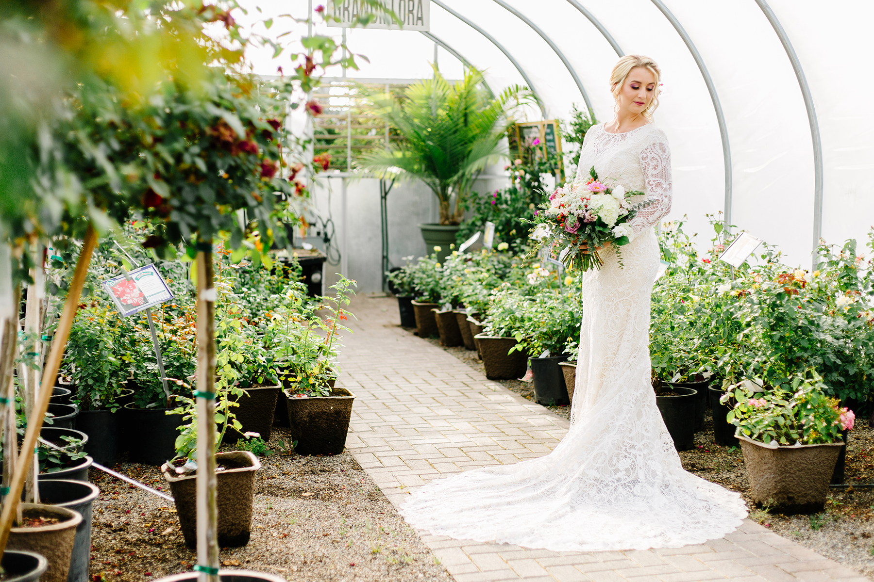 Utah Wedding Bridal Photographer Greenhouse