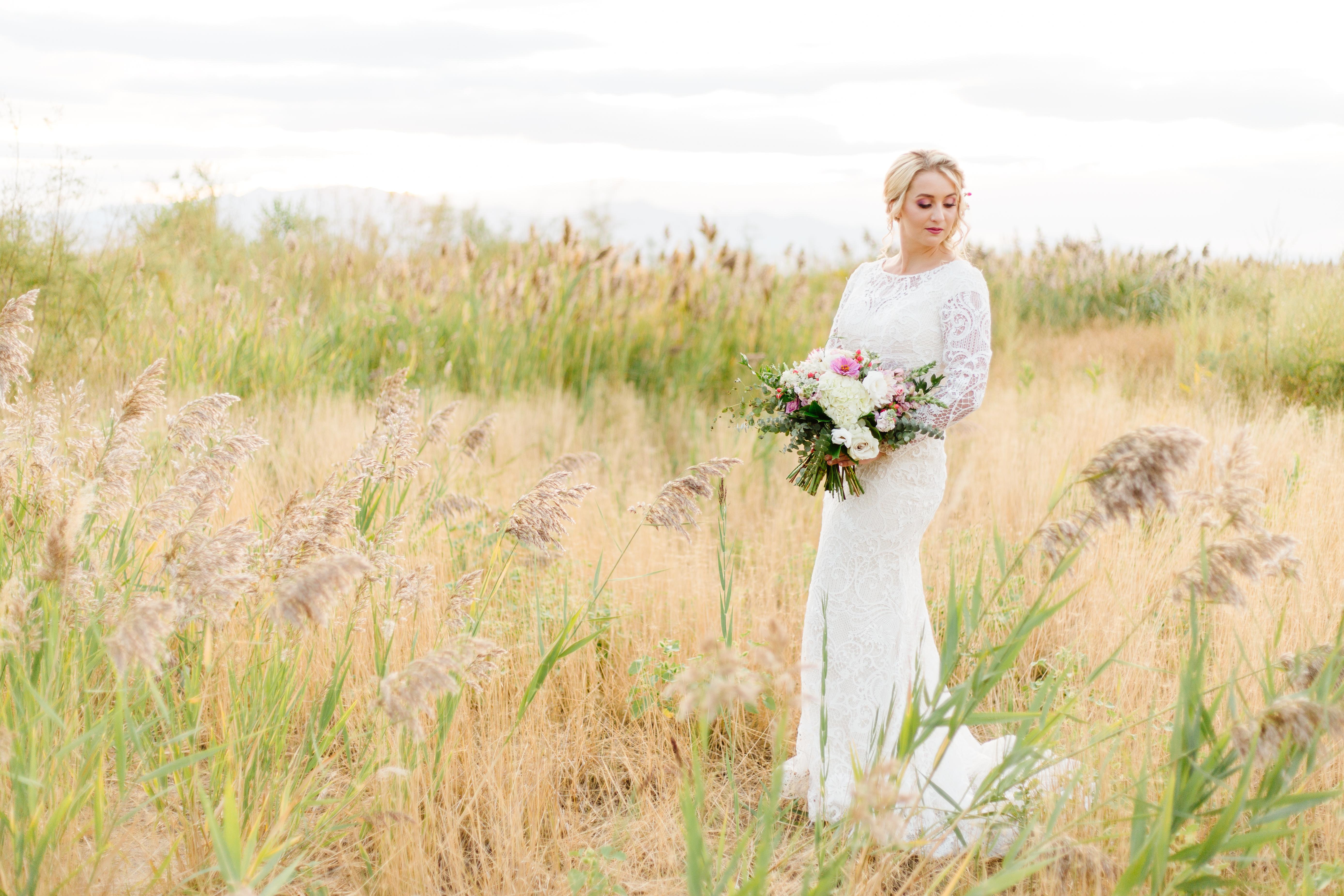 Utah Wedding Bride Photographer Utah Lake