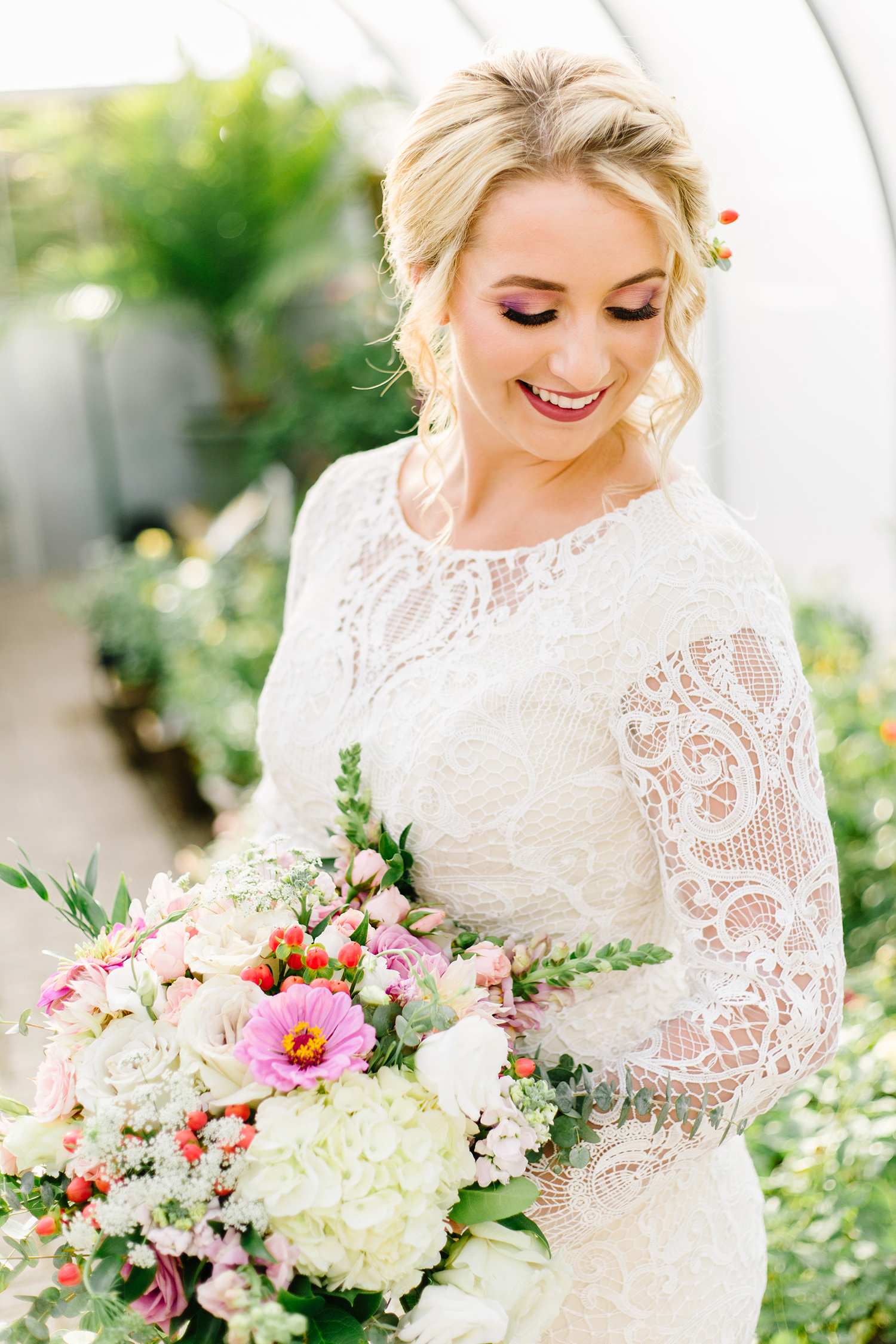 Utah Wedding Bride Photographer Greenhouse