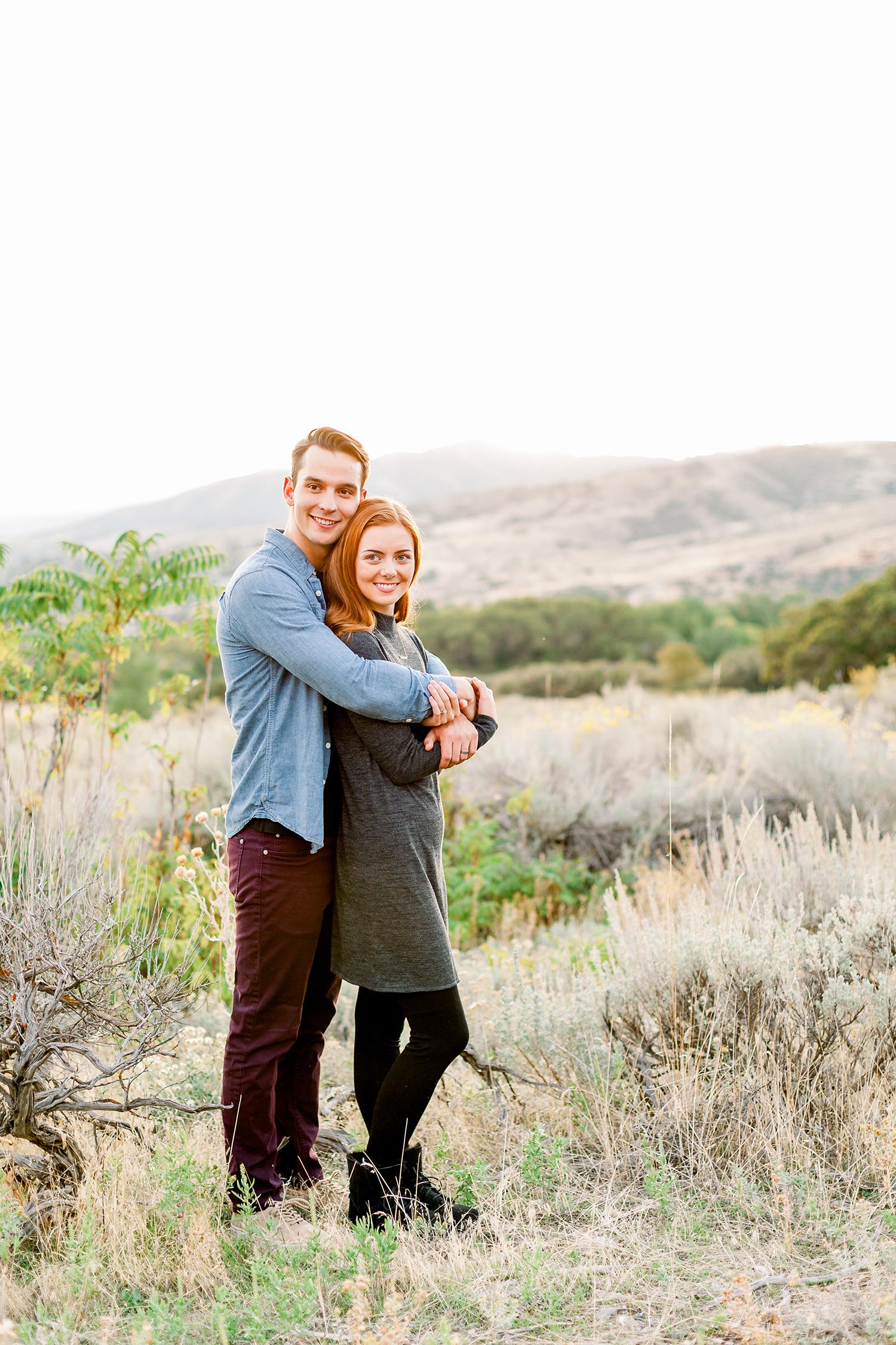 Heather Smith Photography | Utah Engagement Photographer | Utah Couples Session | Alpine Engagement Session