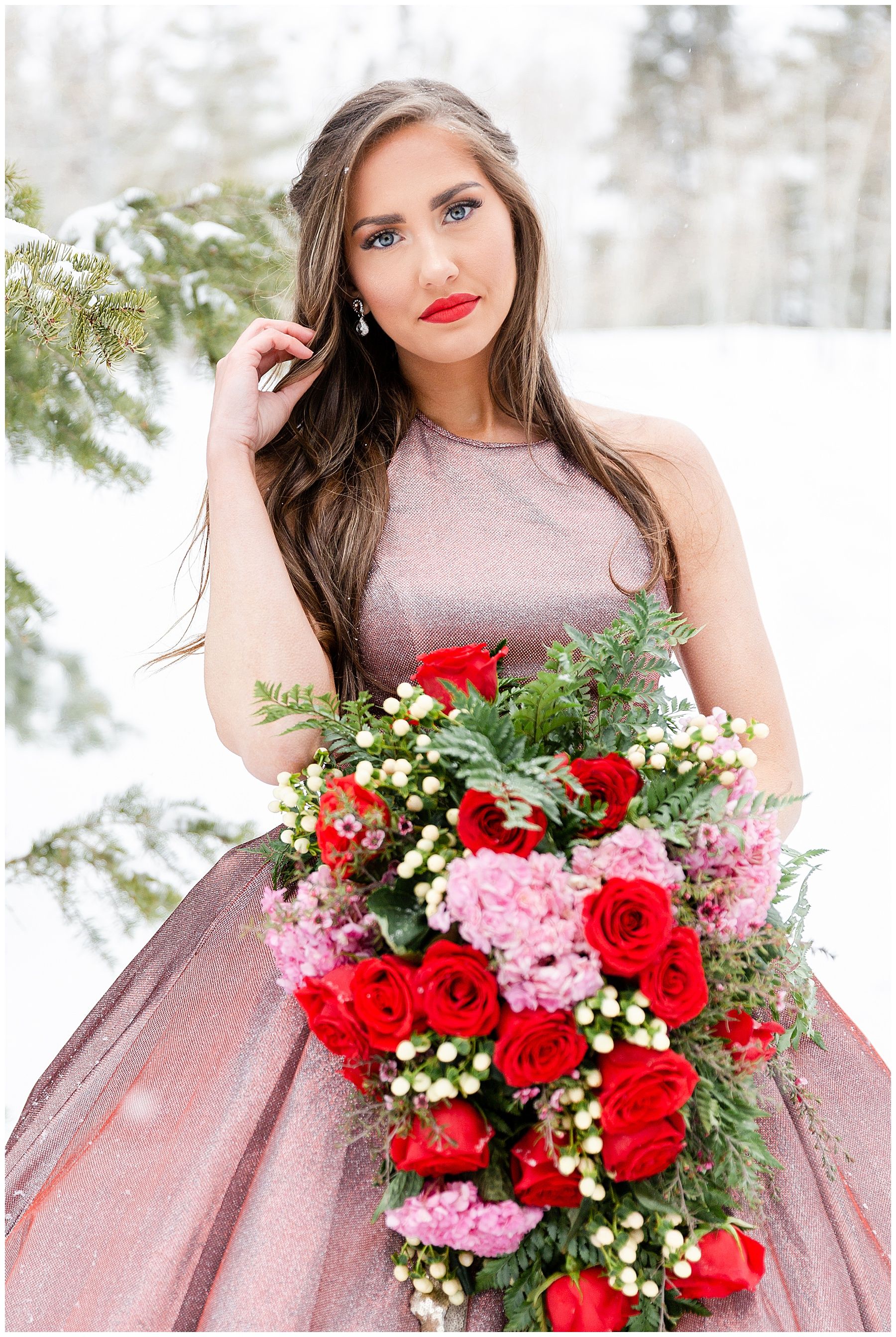 Utah Wedding Photographer | Aspen Grove Valentine's Day Bridals