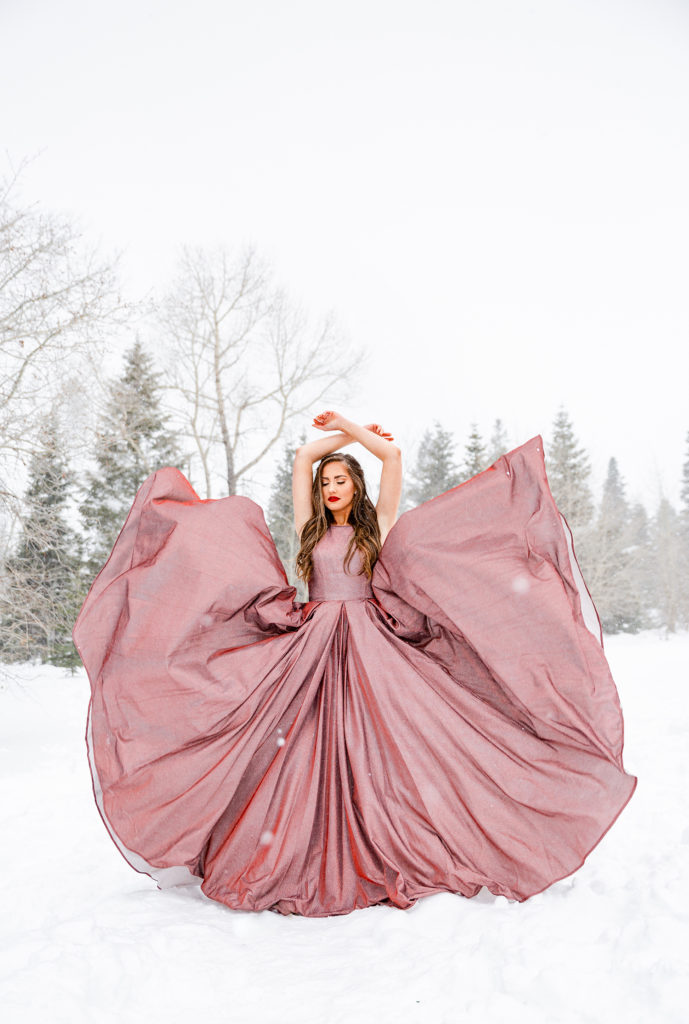 Heather Smith Photography | Utah Bridals | Provo Canyon Bridals | Valentine's Day Bridals