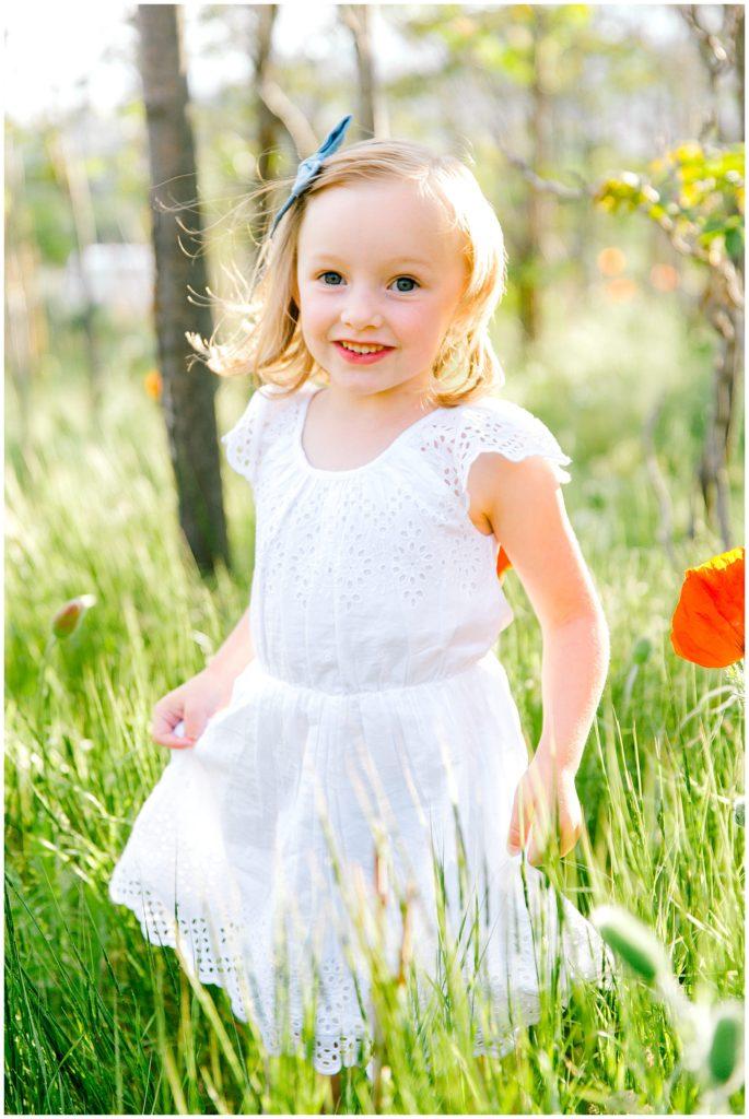 Utah Family Photographer   Utah Poppy Fields