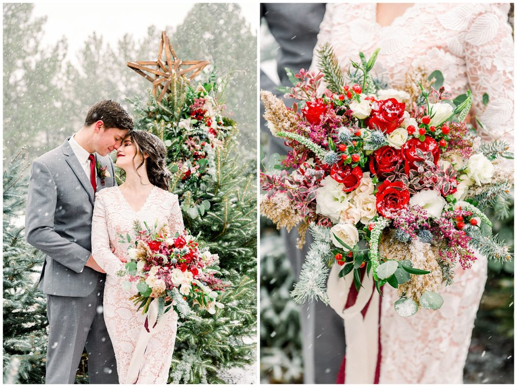 Utah Wedding Photographer | Tree Farm Bridals | Tia & Ryan