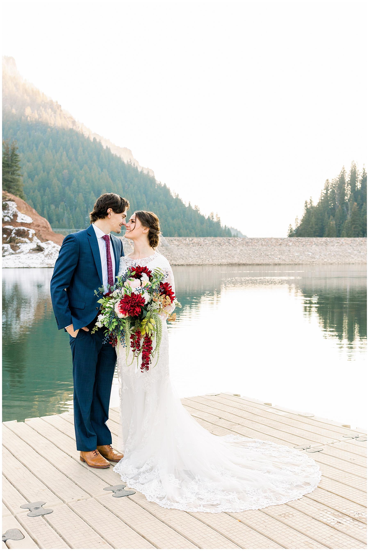 Utah Wedding Photographer | Tibble Fork Bridals