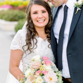 Utah Wedding Photographer | Utah Payson Temple Wedding