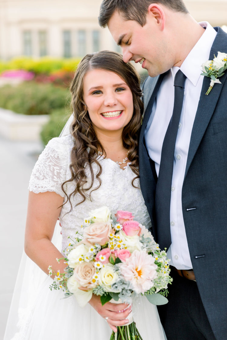 Utah Wedding Photographer | Utah Payson Temple Wedding