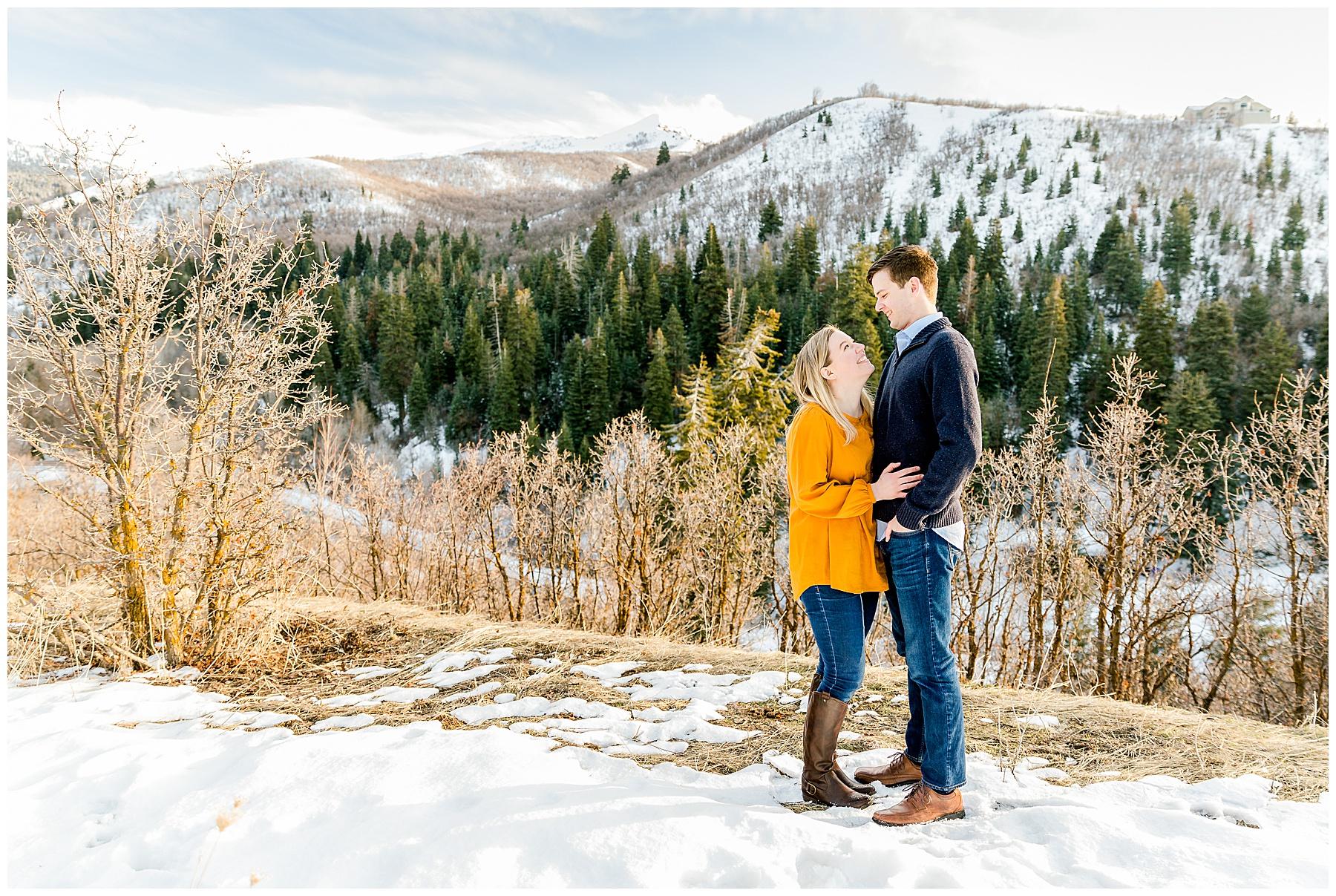 Millcreek Canyon Engagements | Utah Engagement Photographer